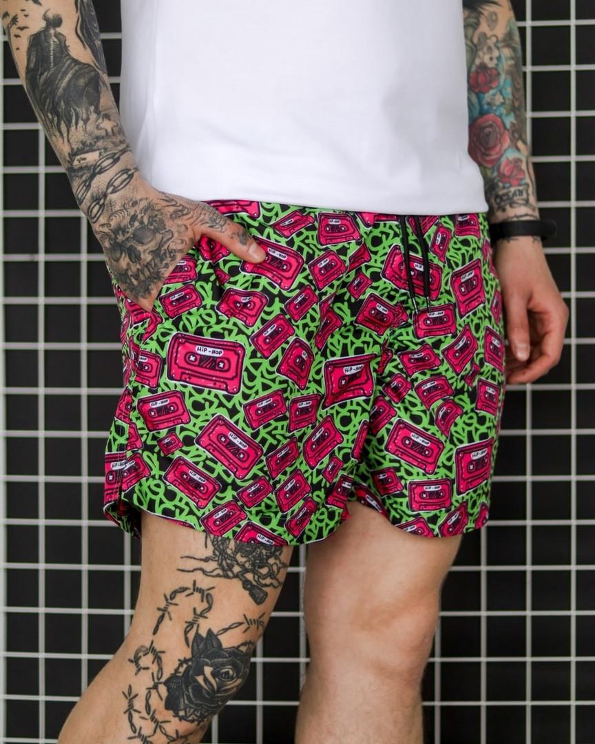 Мужские летние шорты, плащевка, разноцветные