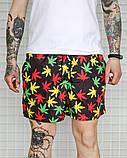 Чоловічі літні шорти, плащівка, різнокольорові, фото 2