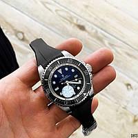 Годинники чоловічі Rolex Deepsea Sea-Dweller Чоловічий годинник Ролекс Годинники наручні механіка з автопідзаводом