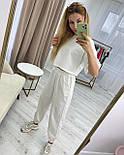 Жіночий спортивний костюм з футболкою і штанами, фото 2