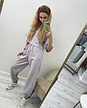 Жіночий спортивний костюм з футболкою і штанами, фото 3