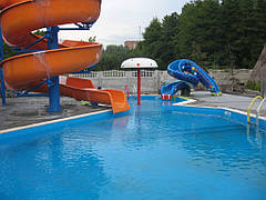 Строительство мини-аквапарка в загородном отеле 5