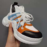Женские кроссовки Louis Vuitton LV Archlight Multicolor | Луи Витон ЛВ Арчлайт Разноцветные