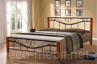 Металеве ліжко Міленіум Вуд Мікс Меблі 160*200