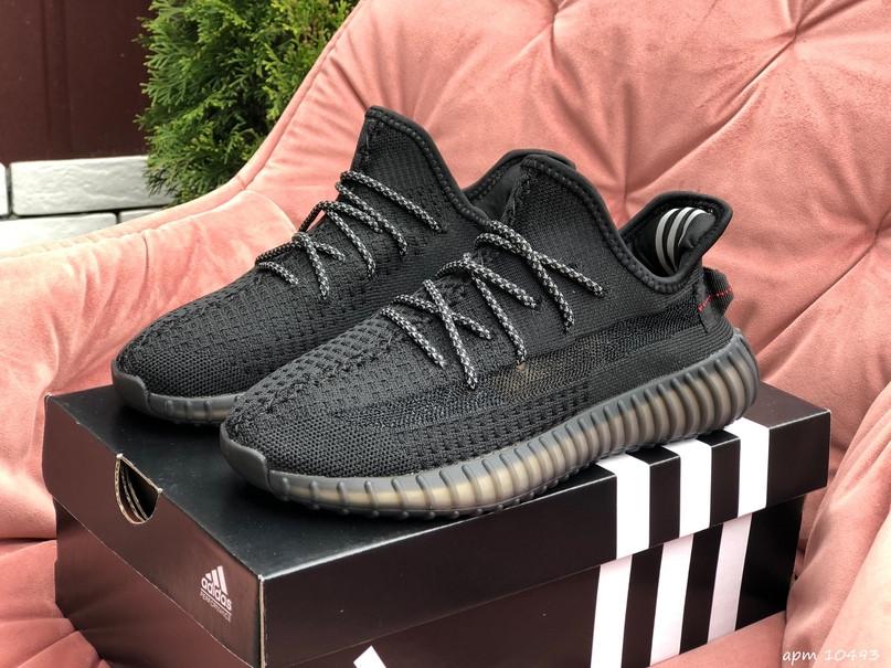 Женские кроссовки Adidas Yeezy Boost 350 v2 черный