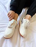 "Женские кроссовки Nike Air Force 1 ""Travis Scott"" белые, фото 4"