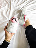 "Женские кроссовки Nike Air Force 1 SE""Love For All""  белые, фото 2"