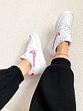 "Женские кроссовки Nike Air Force 1 SE""Love For All""  белые, фото 4"