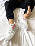 "Женские кроссовки Nike Air Force 1 SE""Love For All""  белые, фото 6"
