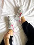 "Женские кроссовки Nike Air Force 1 SE""Love For All""  белые, фото 8"