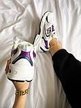 Жіночі кросівки New Balance 530 білі з фіолетовим, фото 2