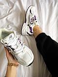Жіночі кросівки New Balance 530 білі з фіолетовим, фото 3