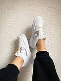 """Жіночі кросівки Nike Air Force Pixel """"Gold Chain"""" білі, фото 5"""