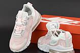 Жіночі кросівки Nike Air Max 270 Reасt біло рожеві, фото 2
