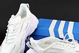 Мужские/ женские кроссовки Adidas Ozwееgо Celox белые, фото 3