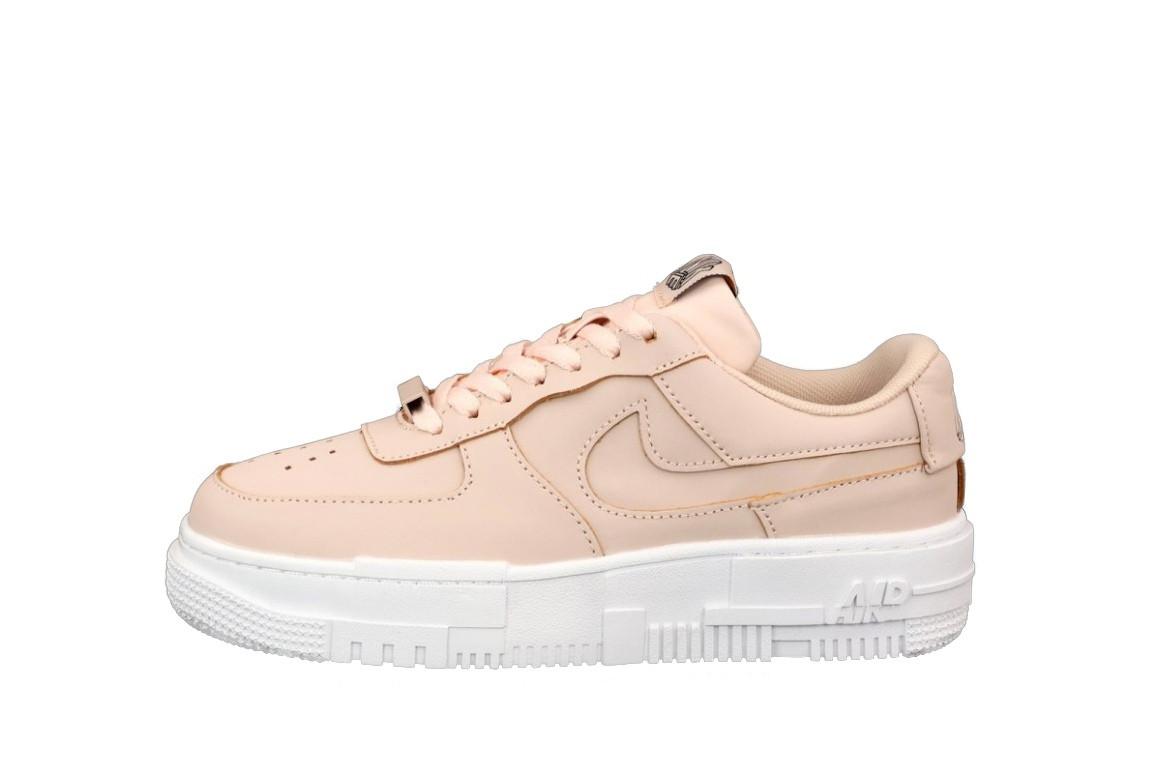 Женские кроссовки Nike Air Force Force 1 Pixel розовые