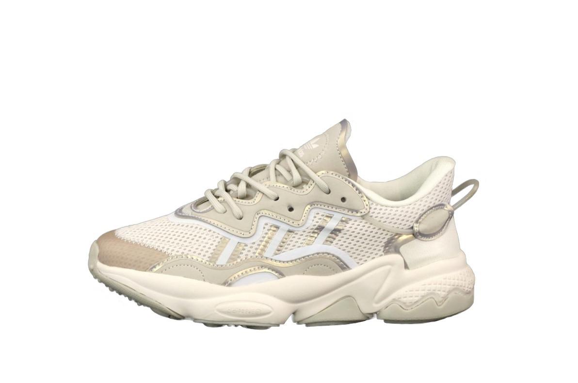 Жіночі кросівки Adidаs Ozwееgо сіро білі