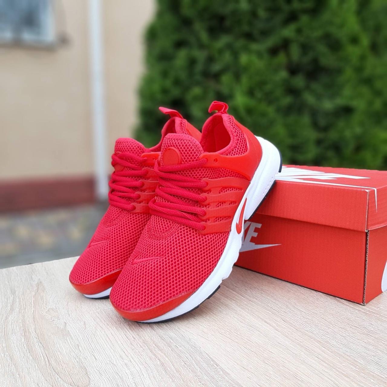 Чоловічі кросівки Nike Air Presto червоні