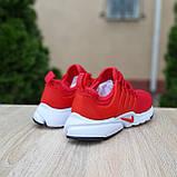 Чоловічі кросівки Nike Air Presto червоні, фото 2