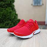 Чоловічі кросівки Nike Air Presto червоні, фото 3