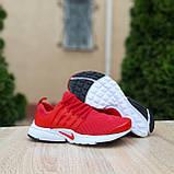Чоловічі кросівки Nike Air Presto червоні, фото 4
