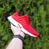 Чоловічі кросівки Nike Air Presto червоні, фото 5