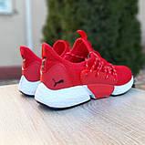 Мужские кроссовки Puma Hybrid Rocket красные, фото 2