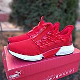 Мужские кроссовки Puma Hybrid Rocket красные, фото 3