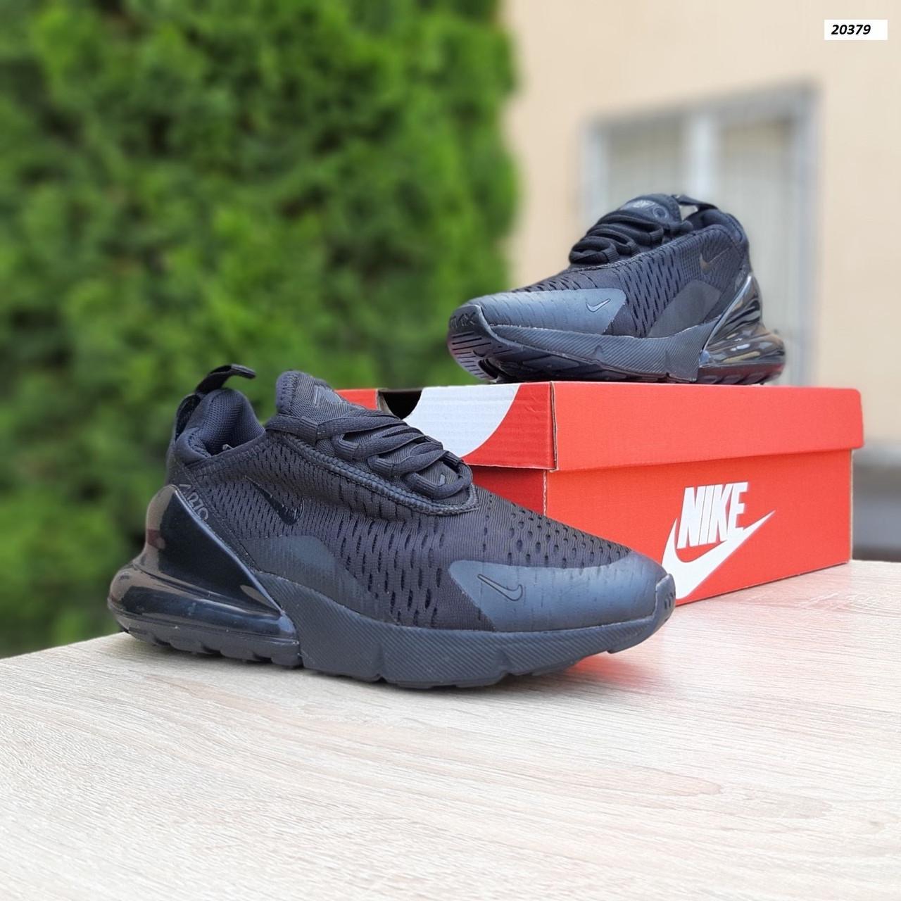 Женские кроссовки Nike Air Max 270 Чёрные