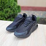 Женские кроссовки Nike Air Max 270 Чёрные, фото 3