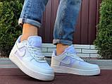 Чоловічі кросівки Nike Air Force Gore Tex білі, фото 4