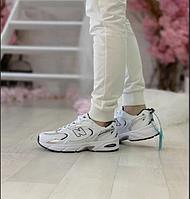 Женские кроссовки New Balance 530 White / Обувь Нью Беленс белые летние сетка