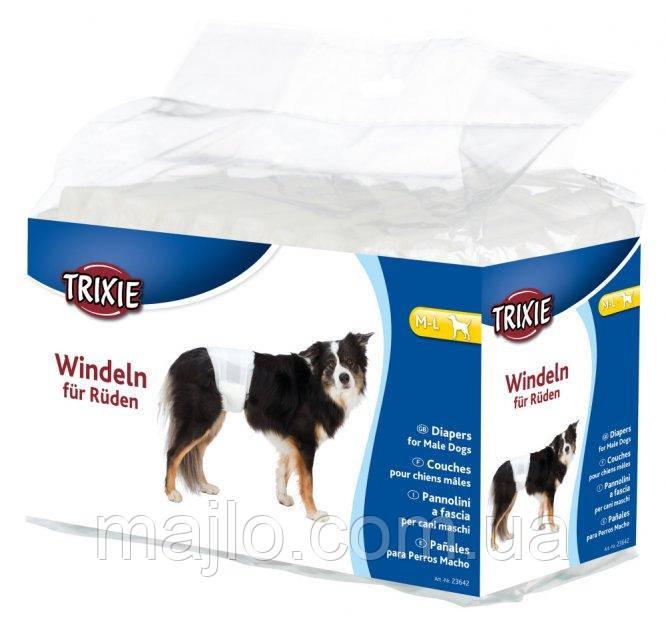 Памперси для собак (псів) Trixie M-L 23642 46-60 см 12шт