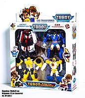"""Набор роботов-трансформеров """"Тобот"""" (4 в 1) DT-339-7"""