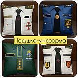 Сувенірна подушка подарункова Поліція, ДСНС, МВС і СБУ, фото 4