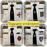 Сувенірна подушка подарункова Поліція, ДСНС, МВС і СБУ, фото 7