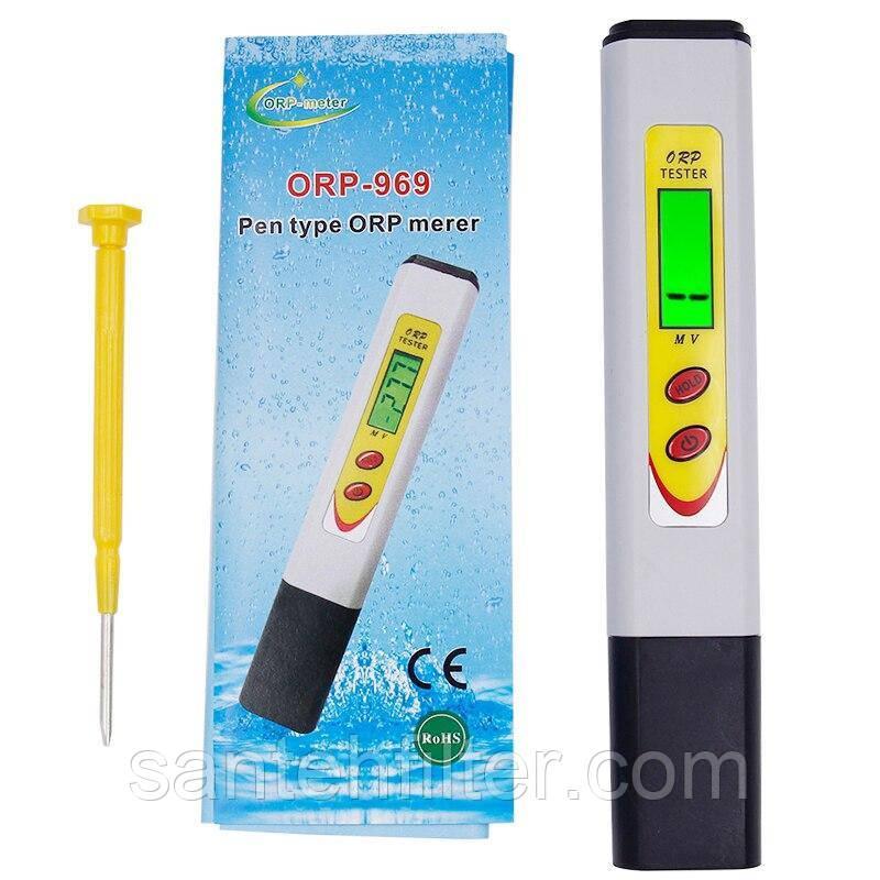 ОВП метр (ORP- 969) Измеритель окислительно-восстановительного потенциала