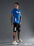 Літній чоловічий костюм футболка і шорти Puma розмір: 48, 50, 52, 54, фото 2