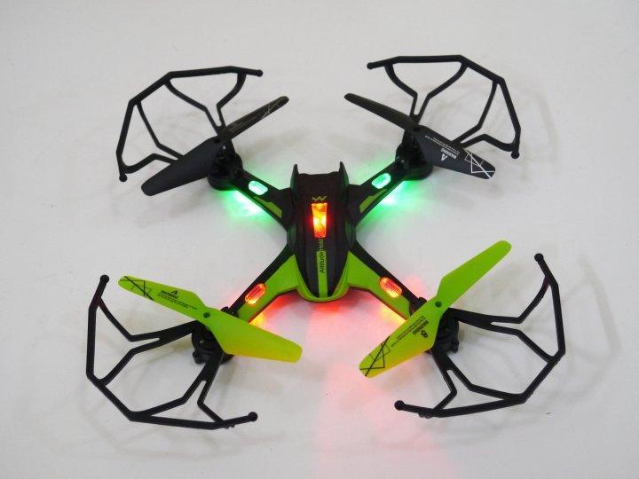 Квадрокоптер CH-202 радіокерований дрон з різнокольоровою підсвіткою (18), коптер літаюча іграшка, фото 3