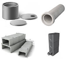 Железобетонные изделия для водоснабжения и канализации