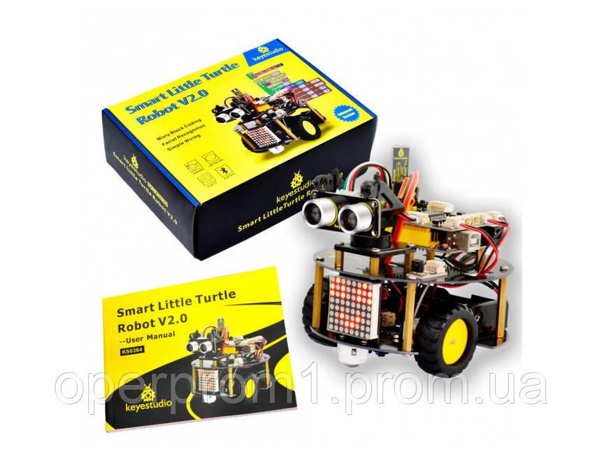 Набір розумний робот рухома інтелектуальна-черепаха для Arduino