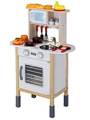 Дитяча кухня Spielwerk з аксесуарами з 35 предметів 01651