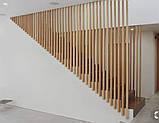 Деревянные перегородки. Деревянные реечные панели. реечные перегородки. Декоративные рейки Деревянные панели, фото 8