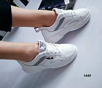 Жіночі кросівки весняні еко шкіра + сітка, фото 1