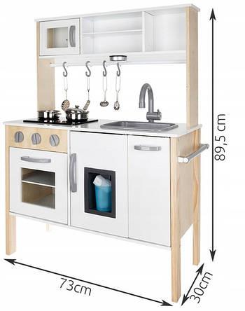 Велика дерев'яна плита для дітей Світло для кухні 01652
