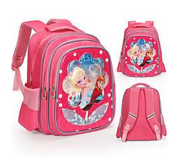 Рюкзак школьный Дисней Холодное сердце Анна и Эльза 3D