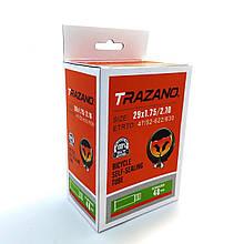 """Велосипедная камера антипрокол Trazano 29"""" с антипрокольной жидкостью"""
