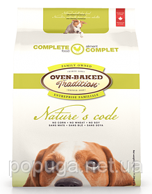 Oven-Baked Tradition nature's Code сухий корм для собак зі свіжого м'яса курки, 11,34 кг
