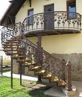 Кованые поручни для лестниц