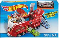 ОРИГИНАЛ Игровой набор Гараж Hot Wheels Ghost Garage